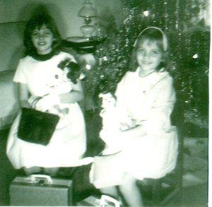 My sister and I on Christmas Day.