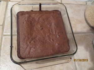 My version of Expresso Fudge Brownie