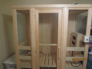 My sauna.