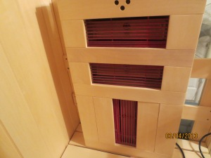 FIR Heater for the back.