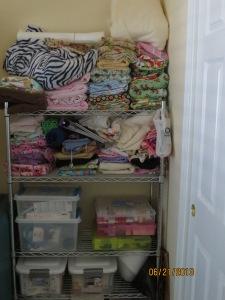 Sewing Shelf